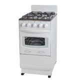 Free Standing Kitchen Gas Oven with Four Burners Gas Stoves