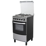 Free Standing Kitchen Oven+Gas Stoves with 4 Chinese Sabaf Gas Burners Sets