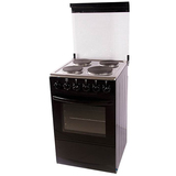 Free Standing Electric Oven and Hotplates with Glass Cover