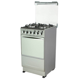 Free Standing Gas Oven + Four Chinese Sabafgas burners Stoves with Glass Cover
