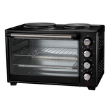 Electric convection oven with quartz tube/ halogen tube JK-19A