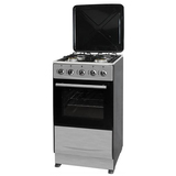 Free Standing Gas Oven + Gas Stoves with Metal Cover