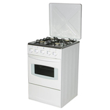 Free Standing Kitchen Oven with Four Gas Burners Stoves