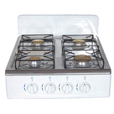 Table Gas Stoves with Brass burner & Aluminum base,Wind guard plate
